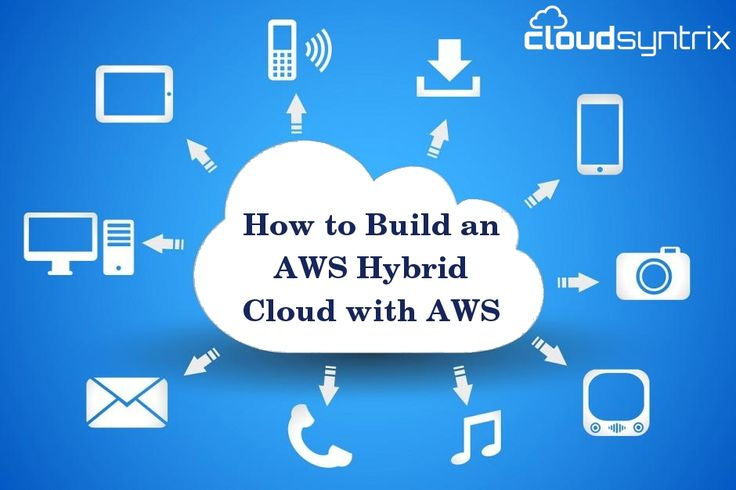 How to build hybrid cloud with AWS
