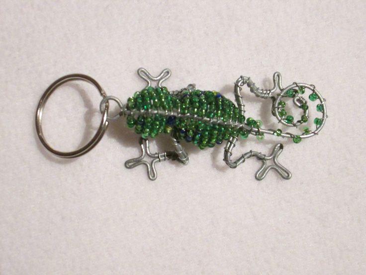 beadwork key ring #18