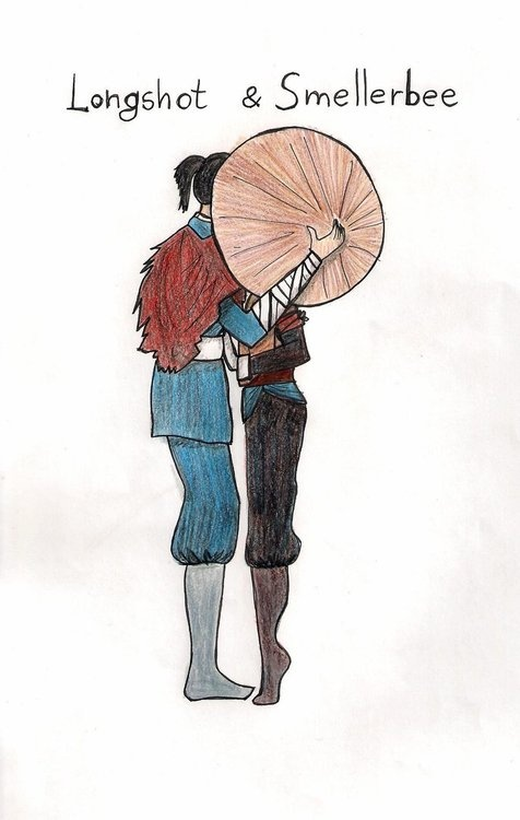 i dont know why, but this is one of my favorite ships in the avatar the last airbender series