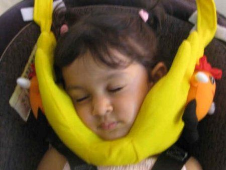 Amazon Com Head Support For Kids Travel Pillow For