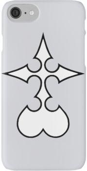 Kingdom Hearts Nobodies iPhone 7 Cases