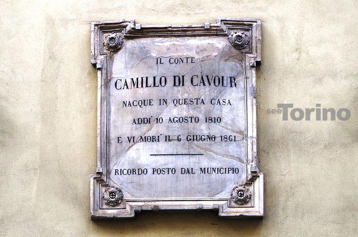 Targa Cavour www.seetorino.com