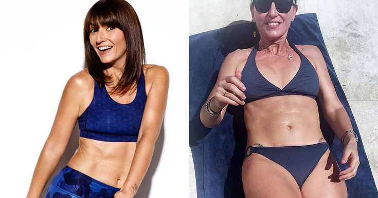 Davina McCall reveals bikini diet that blasts the jelly belly without giving up the foods you love - Daily Record