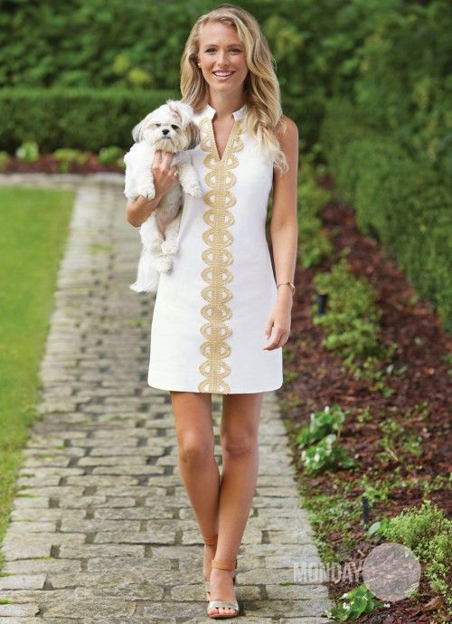 Hooked On You Dress In White | Monday Dress Boutique