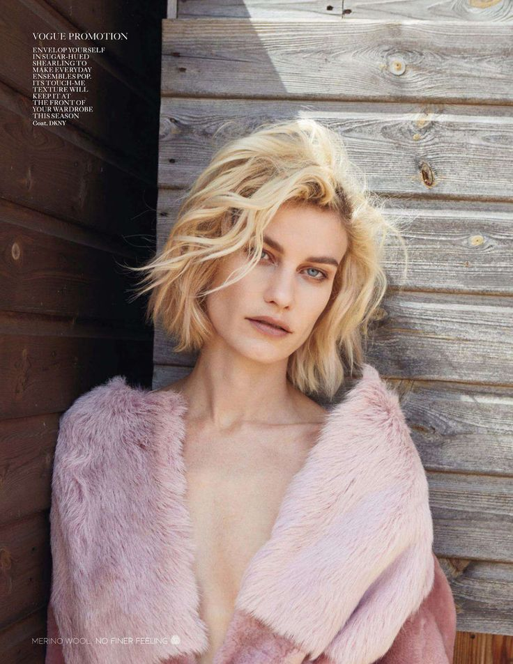enduring love: delfine bafort by yelena yemchuk for uk vogue august 2014 this bob is just perfect! #blonde