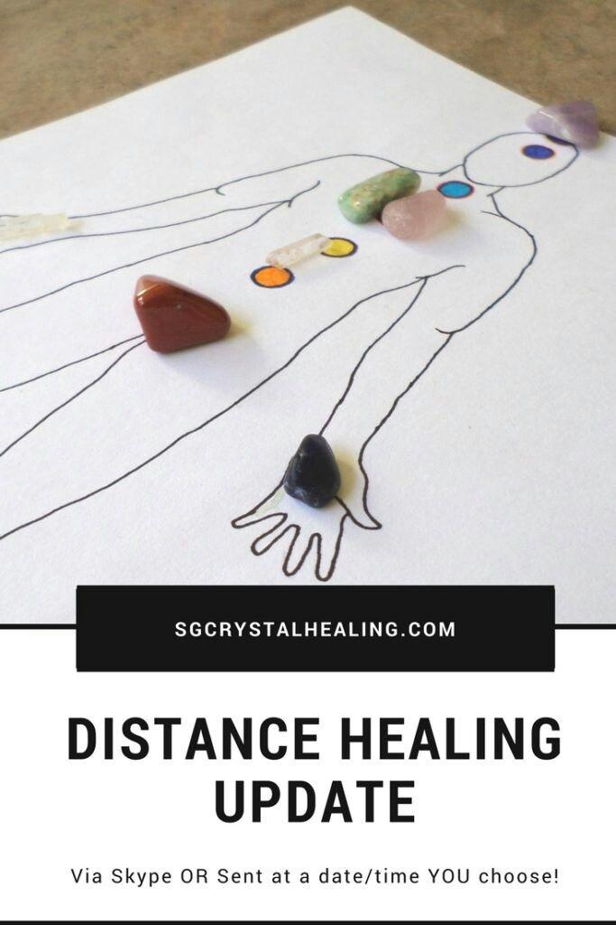 Distance Healing update from Crystal Healing by Siobhan. #distancehealing #energyhealing #crystals #crystalhealing