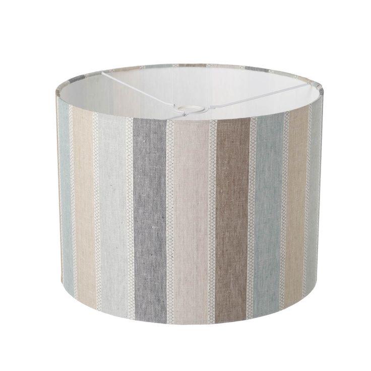 Scandi- Cool Drum Lampshade 40cm x 30cm