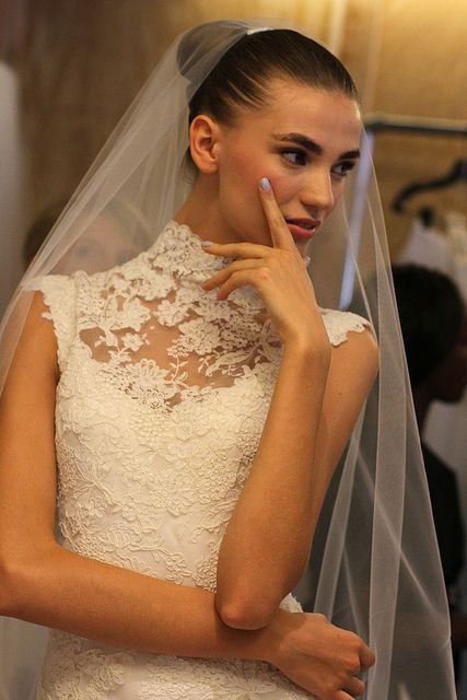 Oscar de la Renta Bridal 2013 63 by rachel.photo, via Flickr