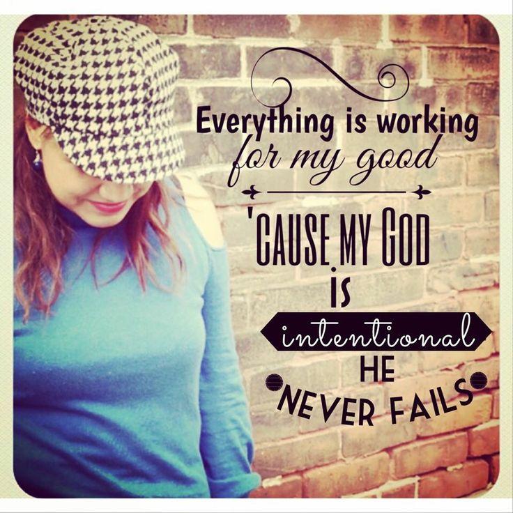 """""""Y sabemos que a los que aman a Dios, todas las cosas les ayudan a bien, esto es, a los que conforme a su propósito son llamados."""" Romanos 8:28 RVR1960  Sabemos que todo está obrando para nuestro bien, pues nuestro Dios es intencional... Design by LucyEsquilinMusic"""