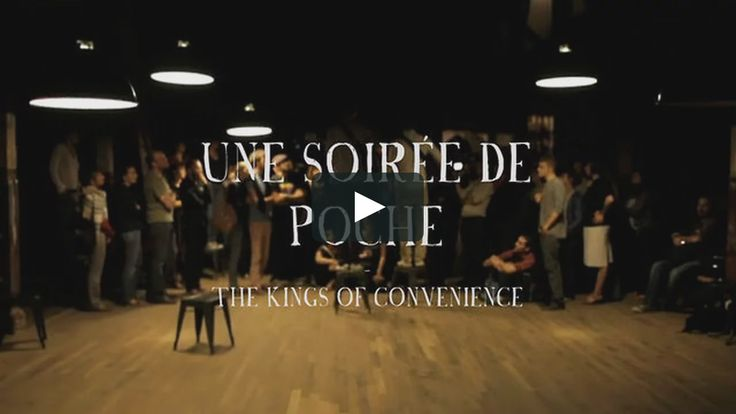 """This is """"The Kings of Convenience - Soirée de Poche #11"""" by La Blogotheque on Vimeo, the home for high quality videos and the people who love them."""