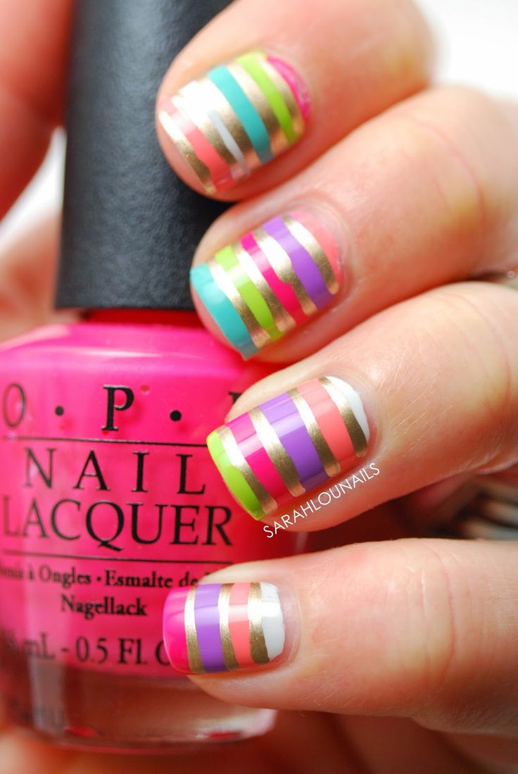 About baby boomer nail art tutorial by nded on pinterest nail art - I M Super Excited About These Nails I Have This Long Stupid Saga About My Bikini But In The End I Got It And I M Completely Obsessed With It And Have