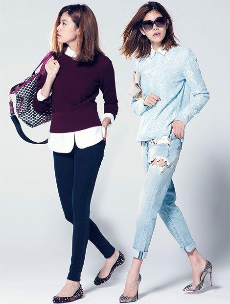 ヤコブコーエンのクラッシュデニム&ジェイブランドのスリムデニム | ファッション |  25ans(ヴァンサンカン)オンライン