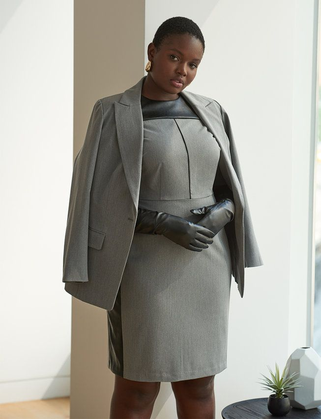 Plus Size Premier Workwear Kit: Dresses, Pants, and Blazers ...