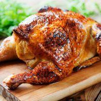 Juicy Cajun Roast Chicken recipie from recipe4living.com
