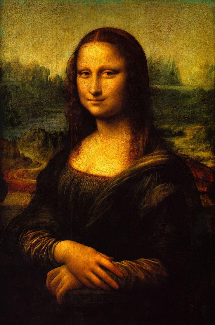 """""""La Gioconda"""", Leonardo da Vinci. Anys 1503-1519."""