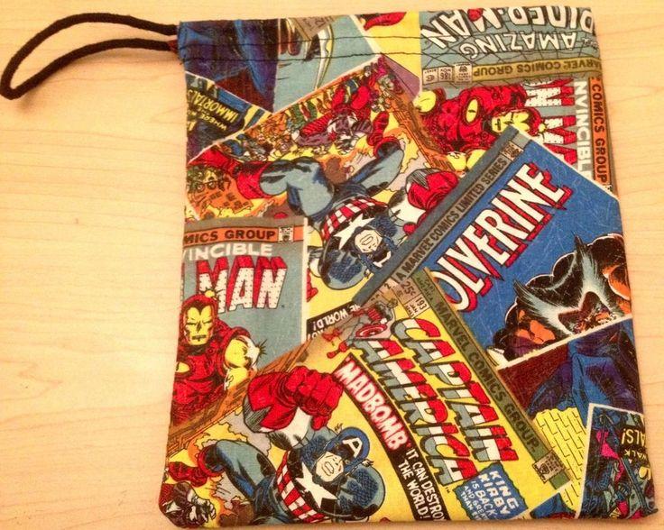 Marvel Dice Masters - Drawstring Dice Bag - Avengers vs. X-Men / Uncanny X-Men