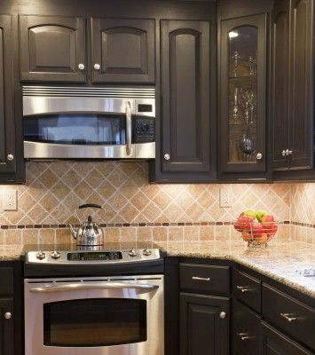 44 best backsplash ideas images on pinterest backsplash ForKitchen Cabinets 76244