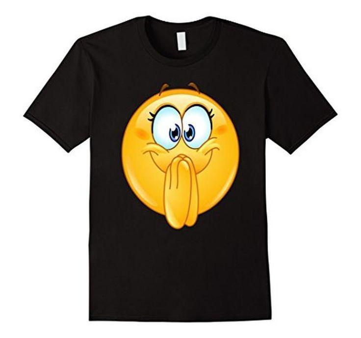 Emoji Excited Emoticon T-Shirt