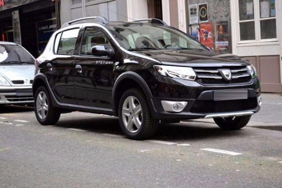 Dacia Sandero Stepway - Dizel Manuel 2015 araç kirala