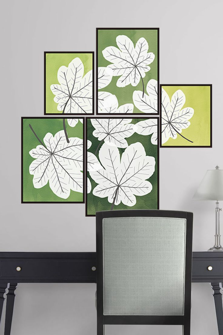 71 best decorative wall decals images on pinterest home this modern wall art is inspired by a project from the pages of marthastewart here