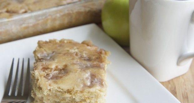 Apple Fritter Coffee Cake Recipe