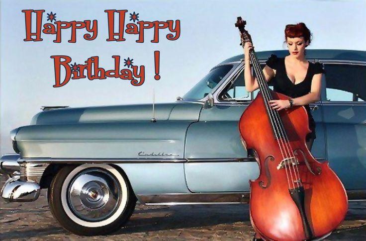 Happy Birthday #vintage #doublebass