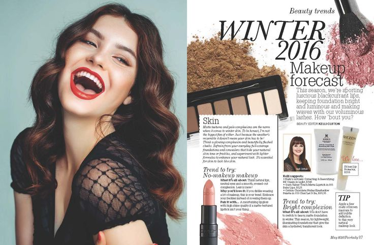Our Lip Protector spotted in the May issue of Fair Lady!