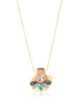 61% OFF Sandy Hyun Crystal Mini Necklace
