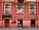 The restaurant is located in the historic center of St. Petersburg near St. Isaac's Square and the Yusupov Palace.