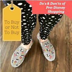 What you should and shouldn't buy when doing a little pre-Disney shopping. Tips and suggestions for what to take on your Disney Parks vacation.