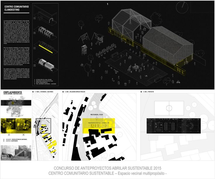 Galería de Centro comunitario clandestino, primer lugar en Premio ABRILAR 2015 - 4