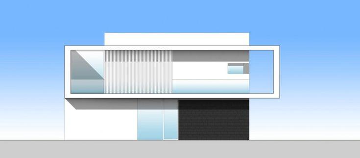casa itslia fachada contrafrente norte