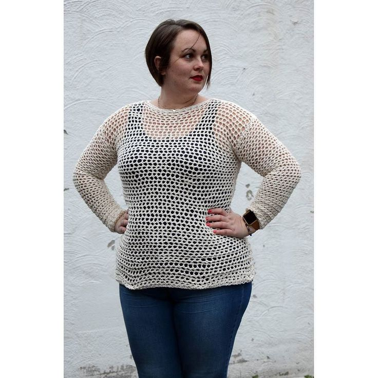 """Free pattern alert  So I've decided to give away this crochet pattern for free as I'm so excited to make crochet sweaters accomplish-able. I mean you can't really stay afraid of making a crochet sweaterTherefore I've made a beginner sweater that is so easy that you won't even need to know now how to make a """"chain"""" or """"slip stitch"""" to make it. In addition I'm working constantly these days to make my crochet tutorials even more detailed all as a part of a new website that will be ready within…"""