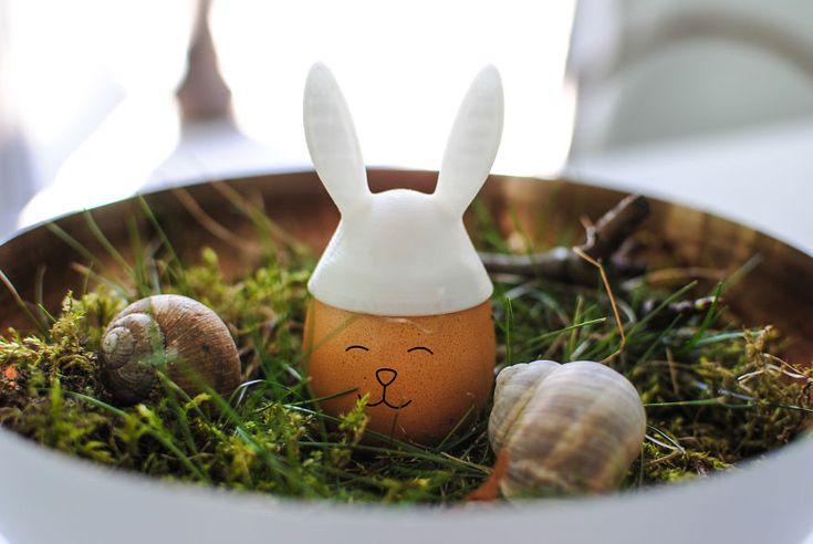 3D Printed  Cute Easter Egg