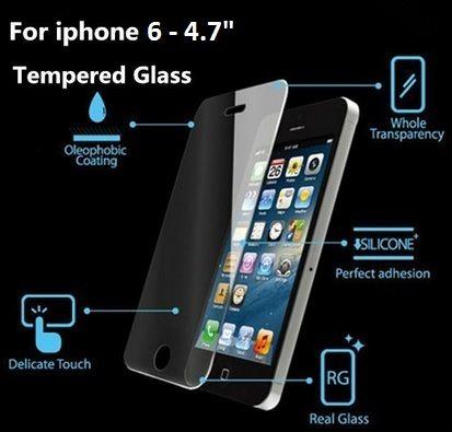 """Αντιχαρακτικό Γυαλί Tempered Glass Screen Prοtector (iPhone 6 - 4.7"""") - myThiki.gr - Θήκες Κινητών-Αξεσουάρ για Smartphones και Tablets - Αντιχαρακτικό Γυαλί - Tempered Glass iPhone 6 - 4.7"""""""