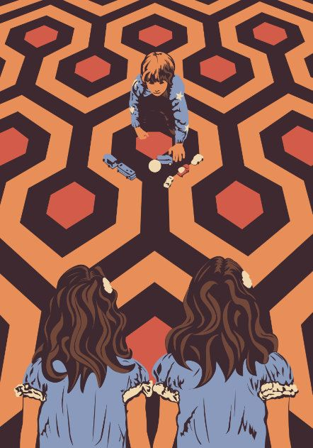 The Shining Danny Torrance Twins Limited by CreativeSpectator, £14.99