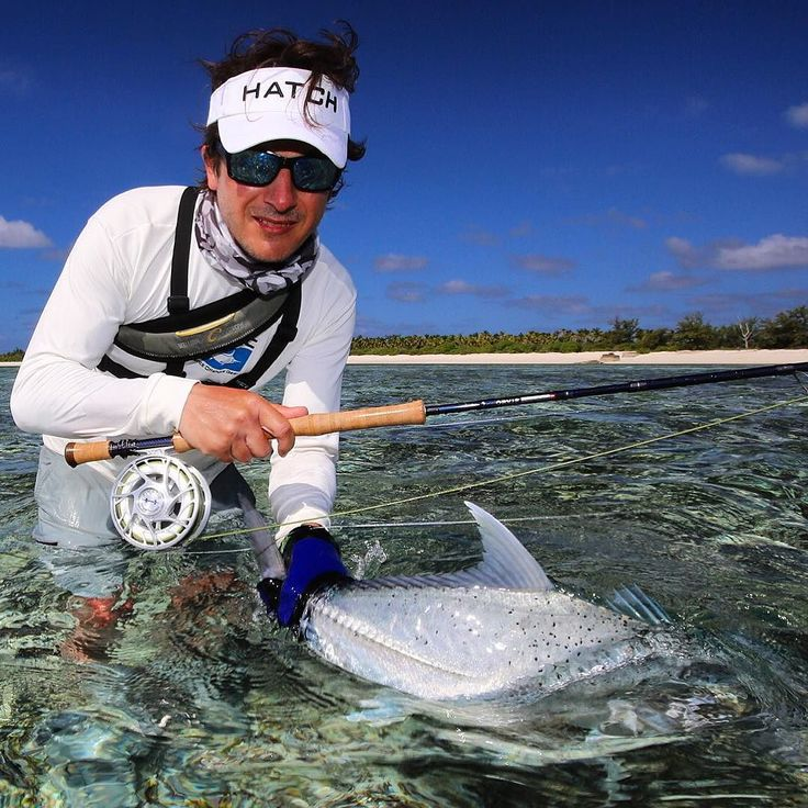 Nice GT on fly! @aosfishing  #flyfishing #fliegenfischen #GT #gianttrevally #flytying #finatical #seychelles #alphonseislandresort #graz #austria #photooftheday #catchrelease #catchandrelease #fischen #fishing #bluesky #hatchpro #mybrother #whitesand #nature #aosfishing #aosbestpic