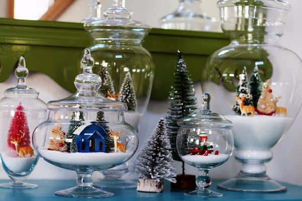 DIY Christmas Jars Can Be Fun To Decorate And Design - http://www.amazinginteriordesign.com/diy-christmas-jars-can-fun-decorate-design/