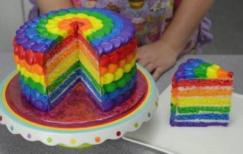 Удивляем вкусом и цветом: торт «Радуга» из бисквитов или желе. Рецепты тортов «Радуга» с натуральными и пищевыми красителями | Женский портал