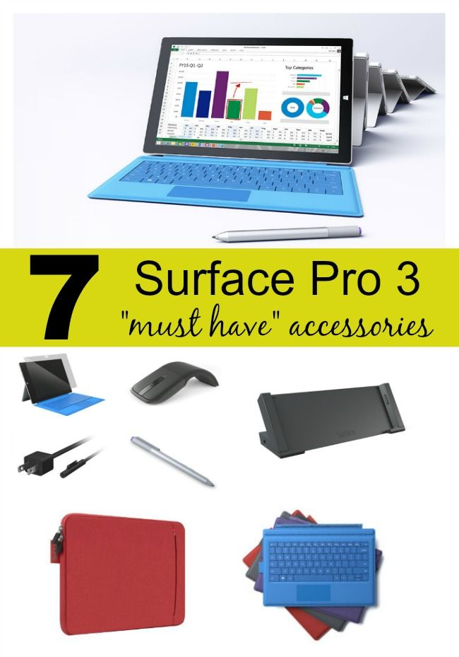 "7 Surface Pro 3 ""Must Have"" Accessories #MicrosoftBloggers #sponsored"