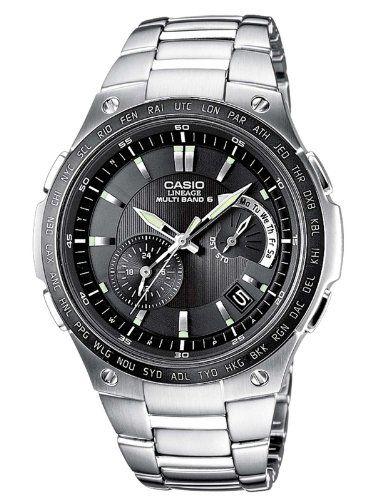 Casio Funkuhren Herren-Armbanduhr Funk-Solar-Kollektion Analog Quarz LIW-M1100DB-1AER | Your #1 Source for Watches and Accessories
