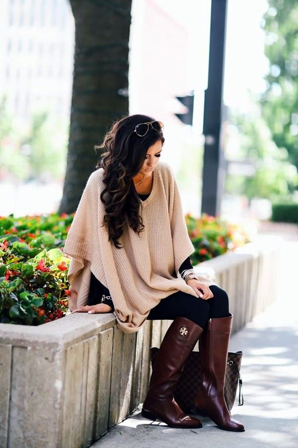 Must Wear Fall Outfits With Boots (16)