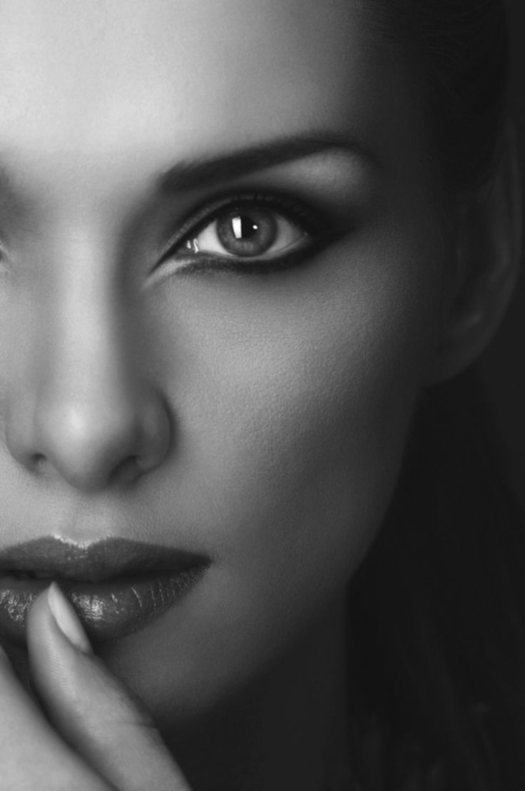 Window to the soul l black white photography