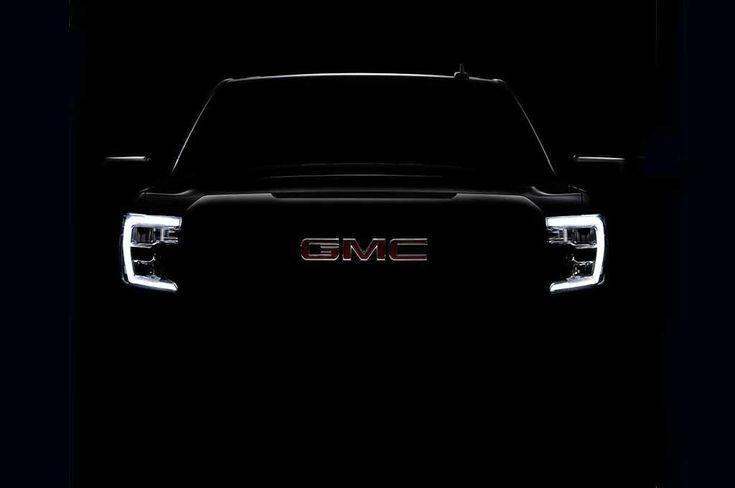 Latest 2019 GMC Sierra 1500 Teaser Shows its Profile http://www.motortrend.com/news/next-gen-2019-gmc-sierra-1500-shows-off-its-headlights/?utm_content=buffere7223&utm_medium=social&utm_source=pinterest.com&utm_campaign=buffer