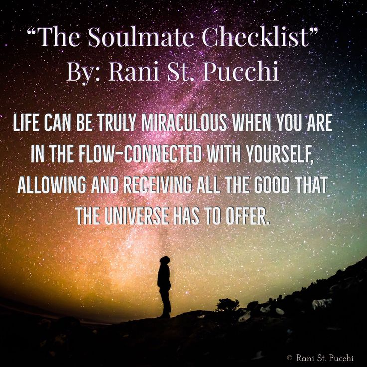 """🌏🌍🌎💫 Life can be truly miraculous when you are in the flow—connected with yourself, allowing and receiving all the good that the Universe has to offer.  """"Soulmate Checklist"""" is Available to purchase on Amazon!  Just click the link below 👇🏻👇🏻👇🏻   https://www.amazon.com/dp/0997697768/ref=sr_1_1?s=books&ie=UTF8&qid=1480513915&sr=1-1&keywords=9780997697766&utm_content=buffer5c0af&utm_medium=social&utm_source=pinterest.com&utm_campaign=buffer"""