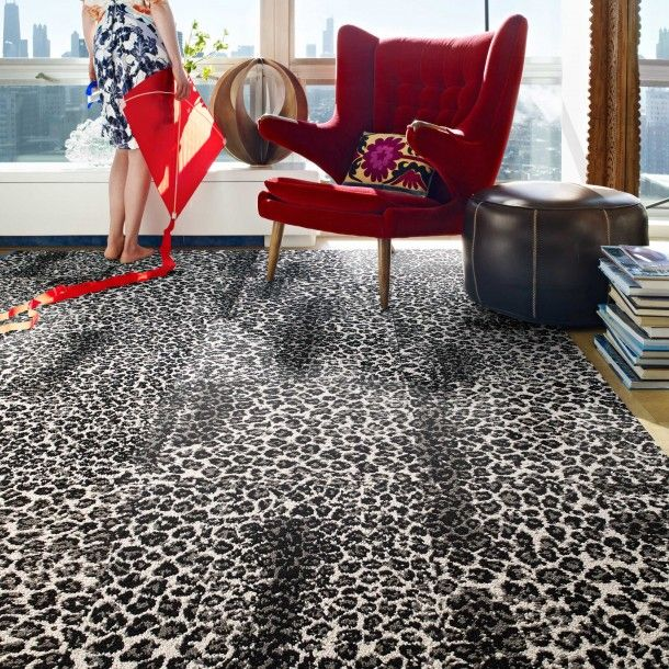 We've gone wild for pattern with this sophisticated faux cheetah design in colors that range from expected to extraordinary.  Striking when used alone, or pair with our Core Solids for a more subtle look – either way, it's purrrrfect for every space. This is a random pattern and no two tiles are alike. The pattern will not align.