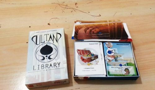 'Real Photo' Sultan's Library Kickstarter #Prototype #Art #Picture #Games