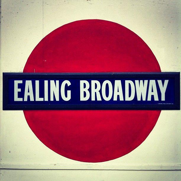 Ealing Broadway Railway Station (EAL) in Ealing, Greater London