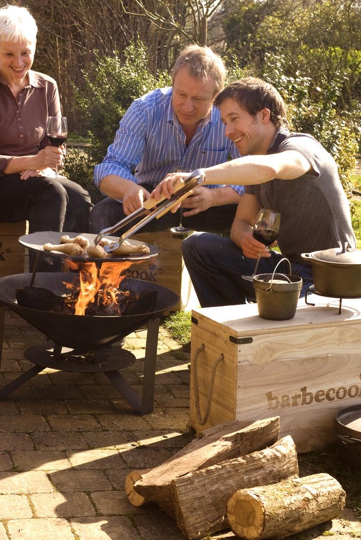 Barbecook Vuurschaal Modern met grillschaal. Bestel eenvoudig bij Terrashaardshop.be
