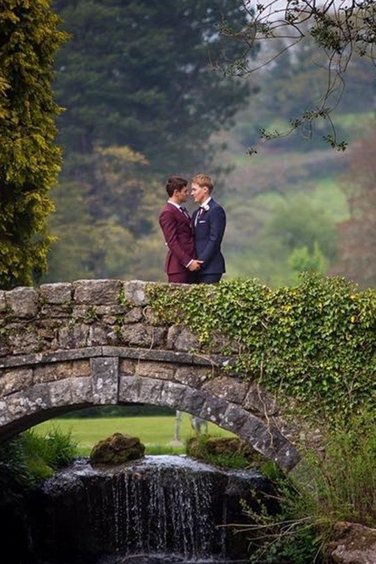 Tom Daley And Dustin Lance Black Have The Ultimate Romantic English Wedding